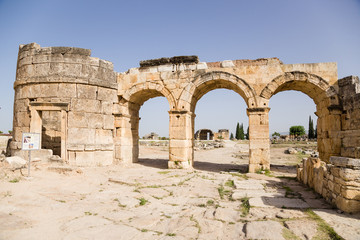 Hierapolis, Turkey. Domitian Gate, 86-87 years AD