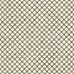 Medium Brown Gingham Pattern Repeat Background