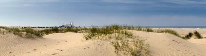 Fototapete - Norderney Panorama