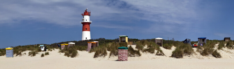 Wall Mural - Panorama am Strand
