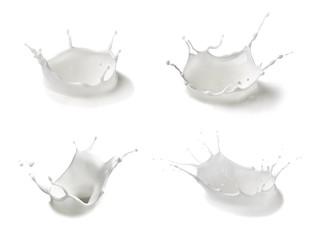 milk splash drop white liquid