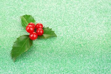 European Holly (Ilex aquifolium) with berries