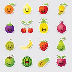Mixed Fruits Character, Cartoon