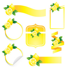 Label Set : Lemon