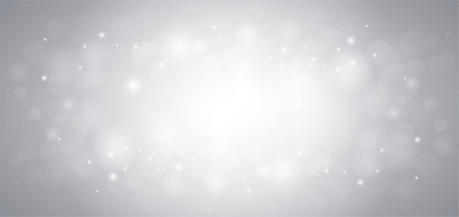abstract air bubble and bokeh vector background