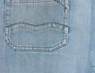 Denim Jeans Pocket