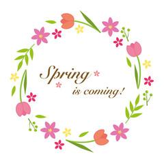 春 花 リース