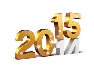 2015 new year sign
