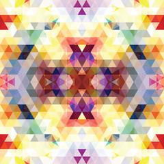 Triangular Mosaic Purple BackgroundŒ