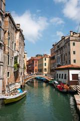 rio del mondo novo canal à Venise