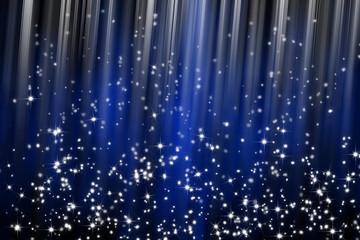 fondo de lluvia de estrellas en el cielo