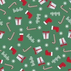 winter holidays pattern seamless background