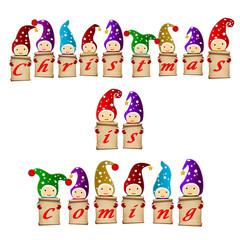 christmas is coming gnomes