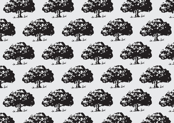 Illustration Tree background