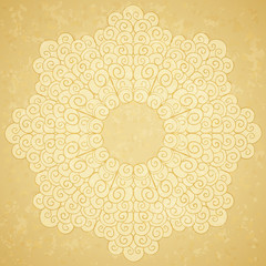 Seamless pattern, beige background.