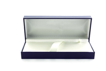 The box of watch on white background