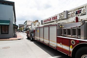 Savannah Fire Truck