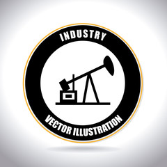 Industry design over white background vector illustratrion