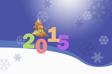 2015 New Year Greeting Card