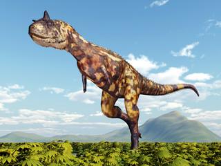 Dinosaur Carnotaurus