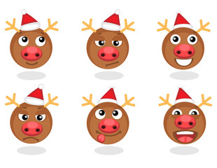 Rudolph smilies