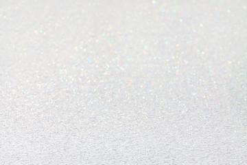 Frosty snow shine.