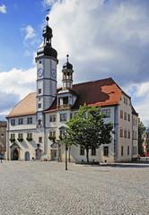 Rathaus am Markt, Eisenberg, Thüringen