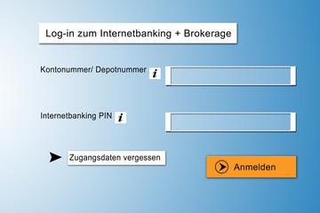 Modernes Onlinebanking