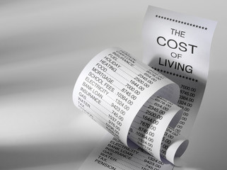The Cost of Living on a Paper Printout
