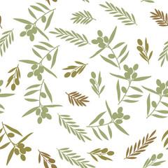 Seamless pattern, olive
