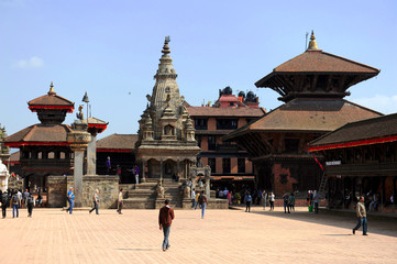 Durbar square de Bhaktapur