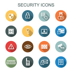 security long shadow icons