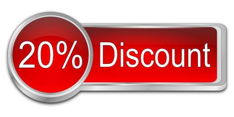 20% Discount Button