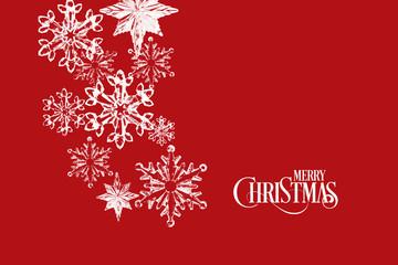 Reddish Merry Christmas background