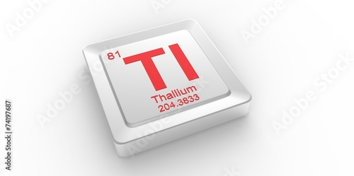 Tl symbol 81 for thallium chemical element of the periodic table tl symbol 81 for thallium chemical element of the periodic table urtaz Choice Image