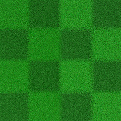 chess texture of grass