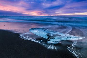 Un diamant sur la plage