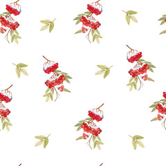Seamless pattern with  christmas design.