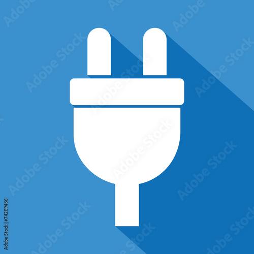 logo prise lectrique electricit fichier vectoriel libre de droits sur la banque d 39 images. Black Bedroom Furniture Sets. Home Design Ideas