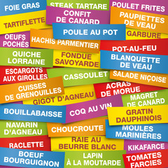 FOND Plats Traditionnels francais