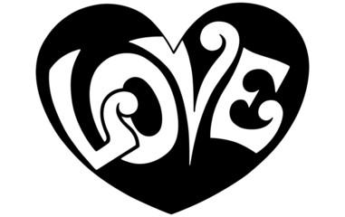 Pop Art Love Heart