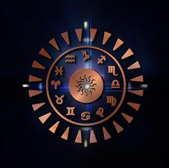 Zodiac - Tierkreis - Kupfer