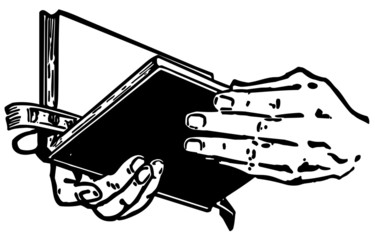 Hands With Bible