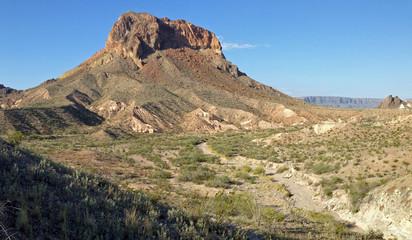 Cerro Castellan in Big Bend National Park