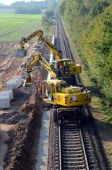Bahn Baustelle