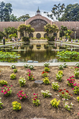 arboretum and lily pond in balboa park