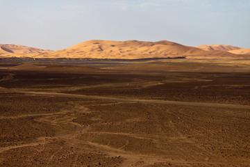 Papiers peints Desert de sable Erg Chebbi
