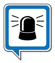 Logo gyrophare.