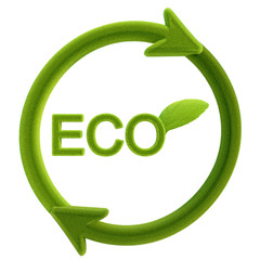 Eco-friendly illustration