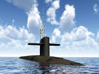 Modernes Unterseeboot